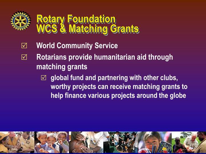Rotary Foundation