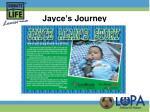 jayce s journey