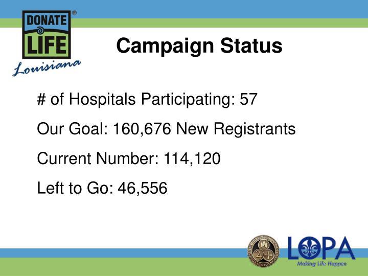 Campaign Status