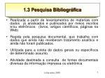 1 3 pesquisa bibliogr fica