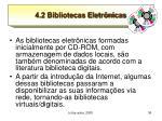 4 2 bibliotecas eletr nicas