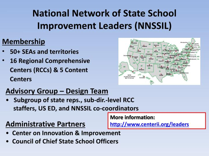 National Network of State School Improvement Leaders (NNSSIL)
