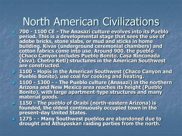 North American Civilizations