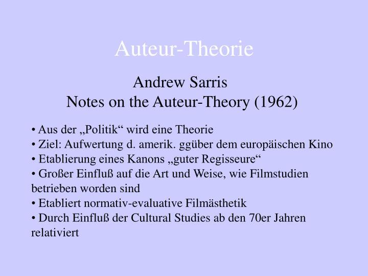Auteur-Theorie