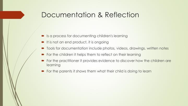 Documentation & Reflection