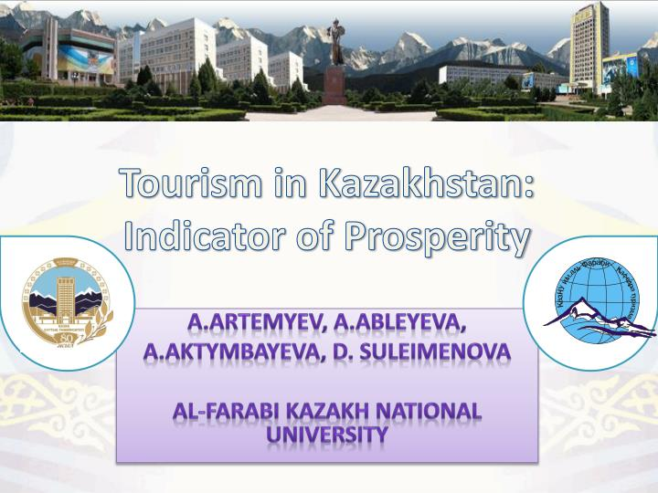 Tourism in kazakhstan indicator of prosperity