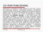cd rom publishing