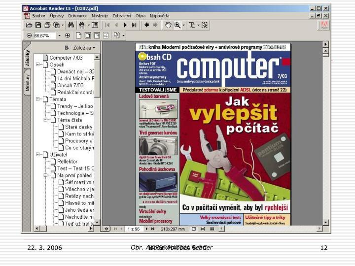 Obr. Adobe Acrobat Reader