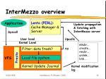 intermezzo overview