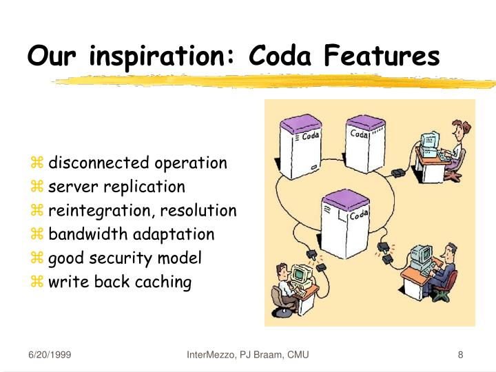 Our inspiration: Coda Features