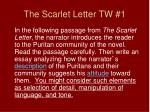 the scarlet letter tw 1