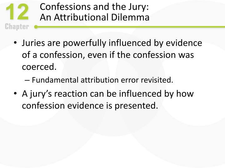 Confessions and the Jury: