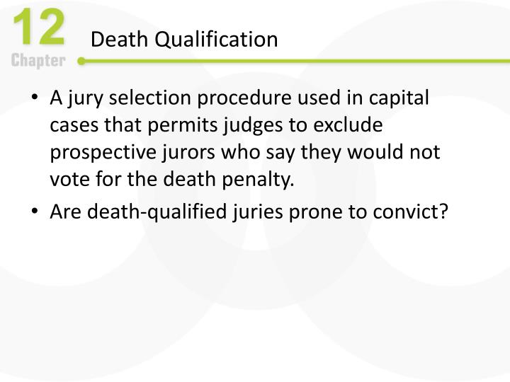 Death Qualification