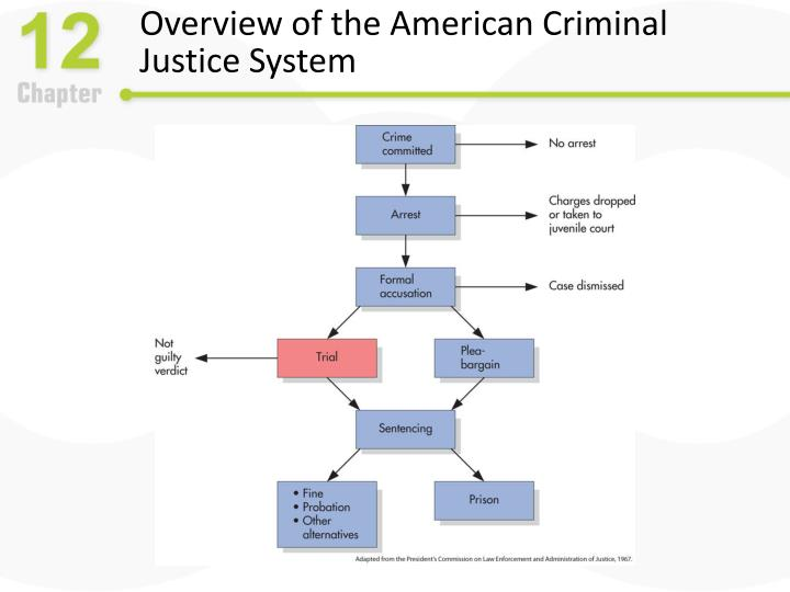 Overview of the american criminal justice system
