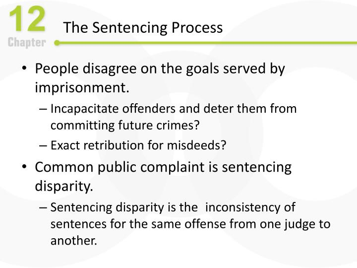 The Sentencing Process