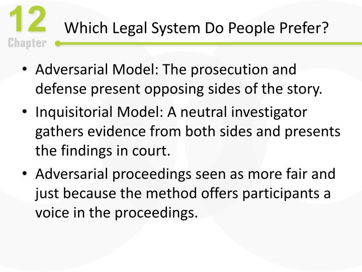 Which Legal System Do People Prefer?
