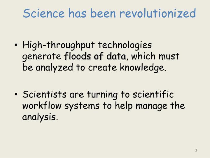 Science has been revolutionized