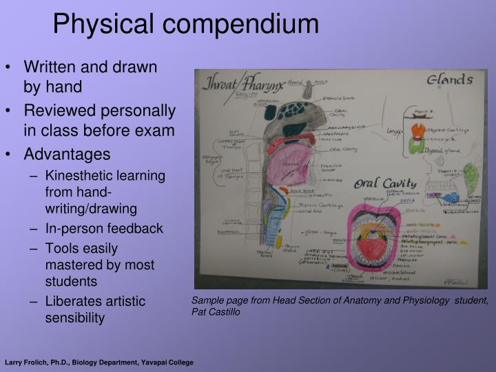 Physical compendium
