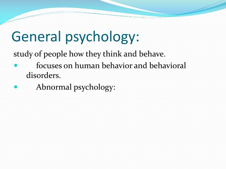 an introduction to abnormal psychology and its three major groups Available in: hardcover robert weis' third edition of introduction to abnormal child and adolescent psychology adopts a he teaches courses in introductory psychology, research methods and statistics,abnormal psychology, and assessment and an introduction to four major works.