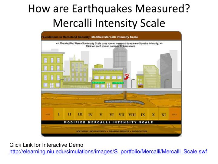 How are Earthquakes Measured?