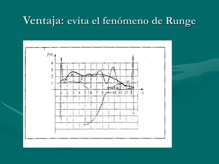 Ventaja: