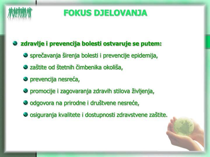 FOKUS DJELOVANJA