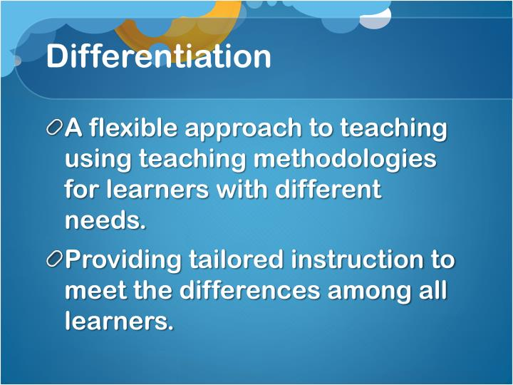 Differentiation1