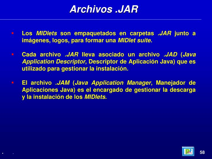 Archivos .JAR