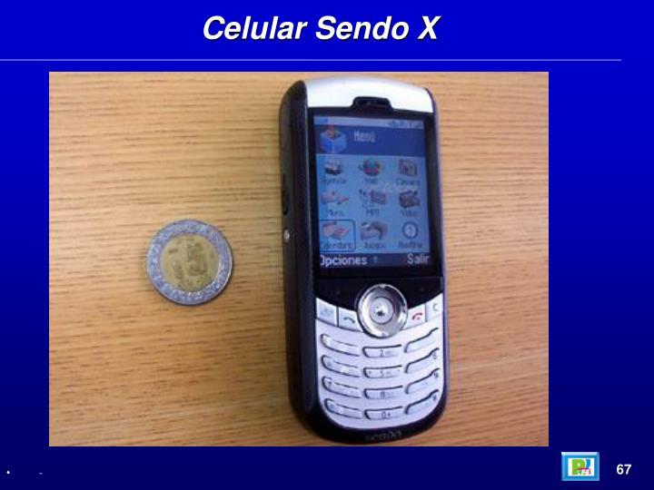 Celular Sendo X