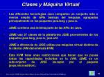 clases y m quina virtual