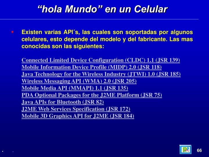 """""""hola Mundo"""" en un Celular"""