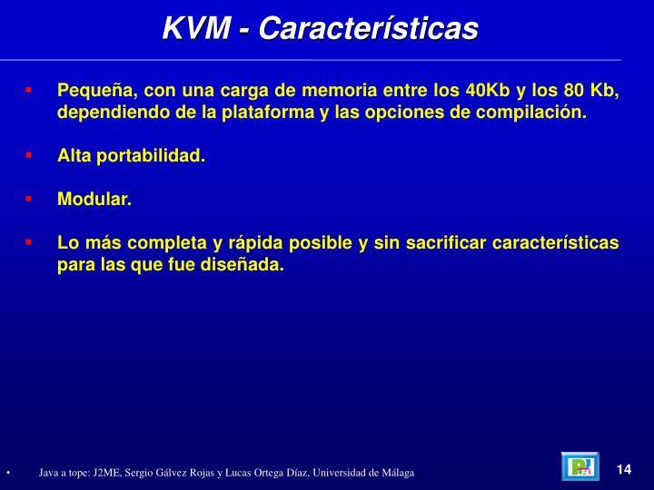 KVM - Características
