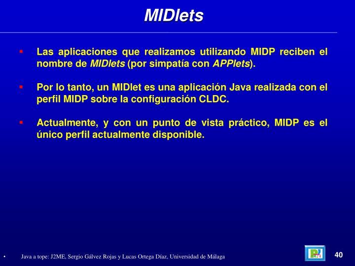 MIDlets