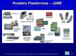 posibles plataformas j2me