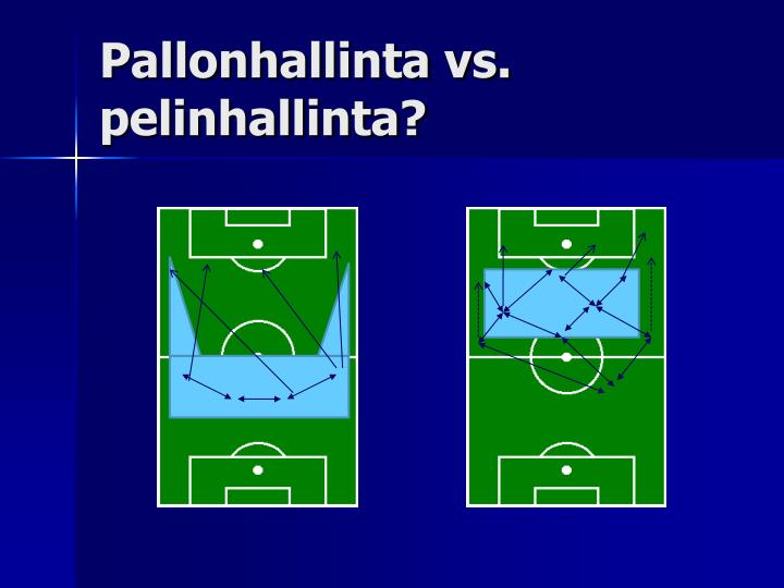 Pallonhallinta vs. pelinhallinta?