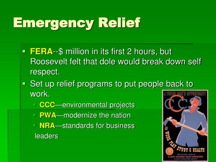 Emergency Relief