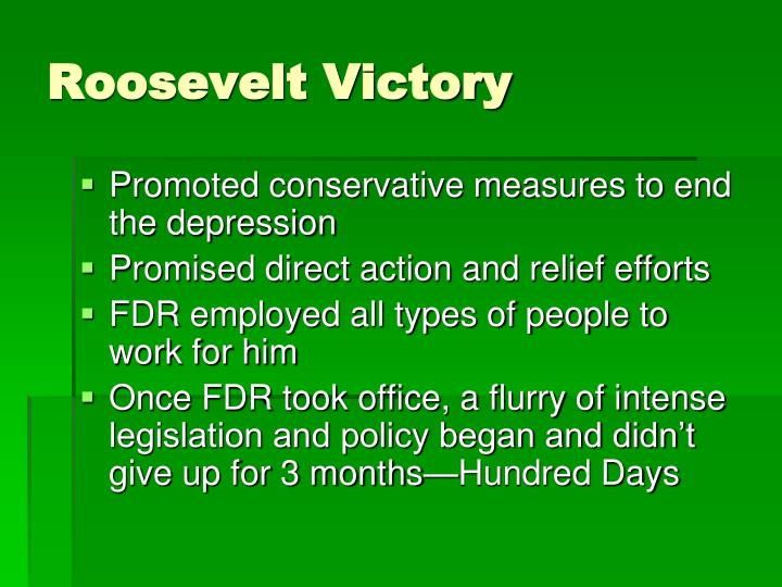 Roosevelt Victory