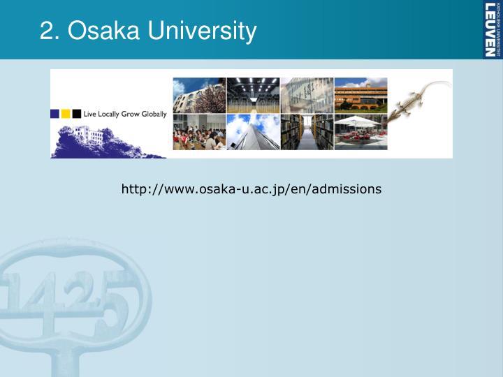 2. Osaka University