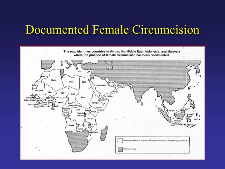 Documented Female Circumcision