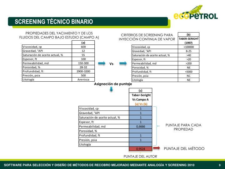 PROPIEDADES DEL YACIMIENTO Y DE LOS FLUIDOS DEL CAMPO BAJO ESTUDIO (CAMPO A)