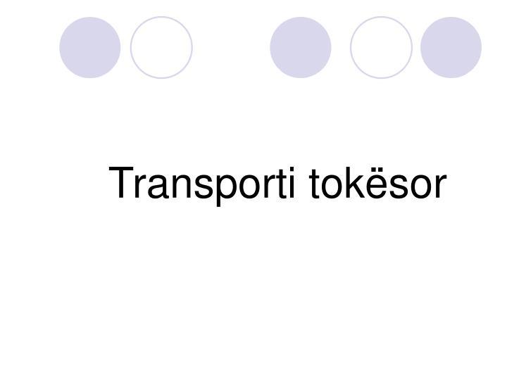 Transporti tokësor