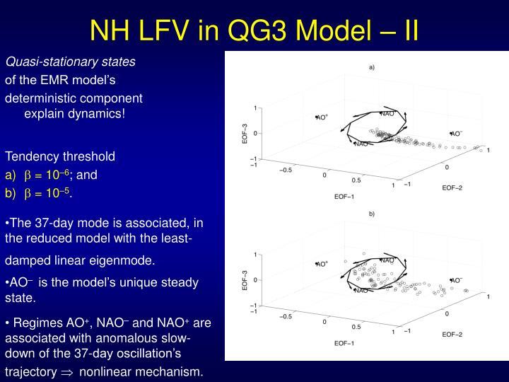 NH LFV in QG3 Model – II