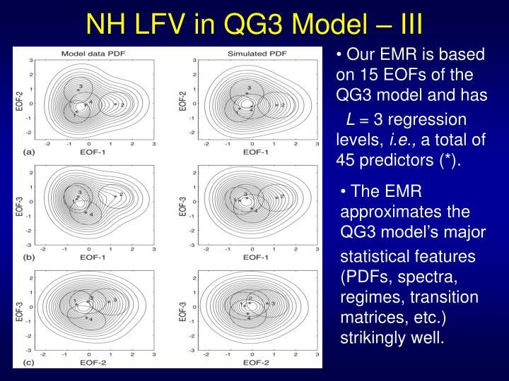 NH LFV in QG3 Model – III