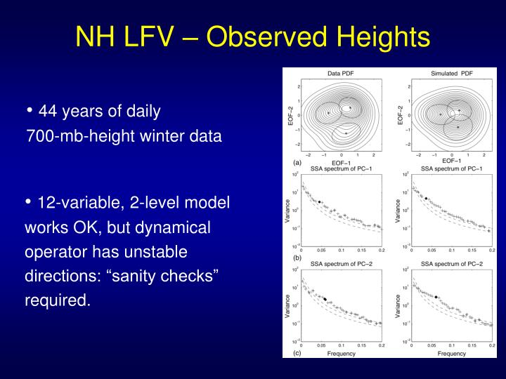 NH LFV – Observed Heights