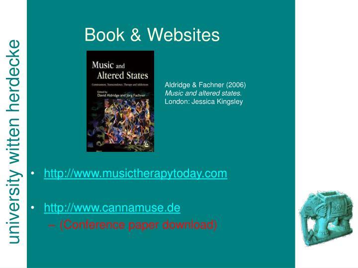 Book & Websites
