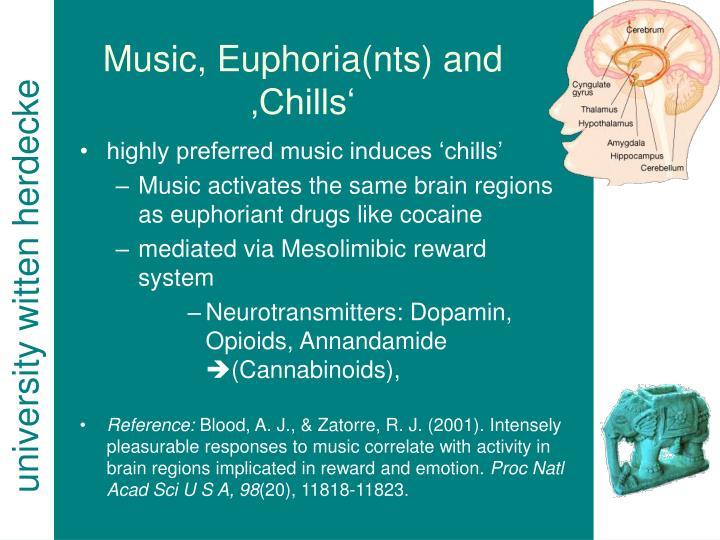 Music, Euphoria(nts) and 'Chills'