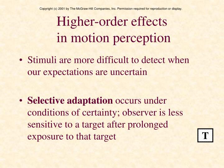 Higher-order effects
