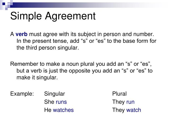 Simple agreement
