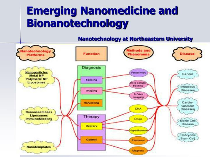Emerging Nanomedicine and Bionanotechnology