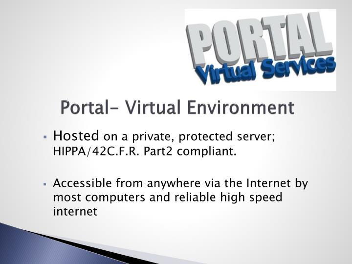 Portal- Virtual Environment